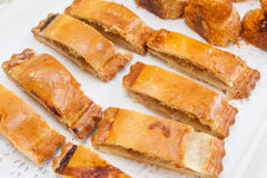 Bakery cakes and pies Stock Image