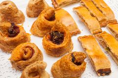 Bakery cakes and pies Stock Photography
