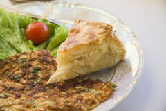 Bakery: cheese pie Royalty Free Stock Photos