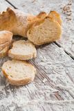 Bakery concept. Plenty of sliced white bread background. Sliced white bread, bakery background on rustic wood, vertical, closeup, copy space stock photos