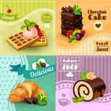 Bakery Concept Set Royalty Free Stock Image