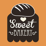 Bakery design Stock Photos