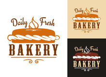 Bakery design Royalty Free Stock Photos