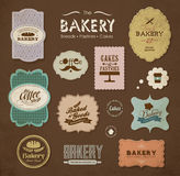 Bakery design elements Royalty Free Stock Images