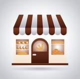 Bakery design. Bakery graphic design , vector illustration stock illustration