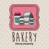 Bakery design Stock Image