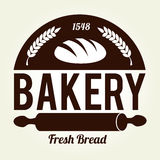 Bakery design. Over beige background, vector illustration vector illustration