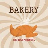 Bakery design over beige background vector illustration Royalty Free Stock Image