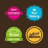 Bakery design Royalty Free Stock Images