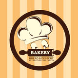 Bakery design Stock Photography