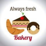 Bakery design, vector illustration. Royalty Free Stock Photos