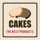 Bakery design, vector illustration. Stock Images