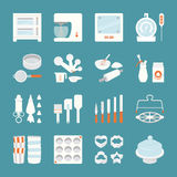 Bakery. Equipment and tool icons, vector design Royalty Free Stock Photo