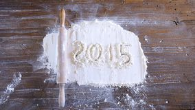 2015 in bakery. Royalty Free Stock Image