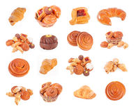 Bakery foodstuffs Royalty Free Stock Images