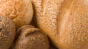 Bakery foodstuffs. Shot in a studio Royalty Free Stock Photography