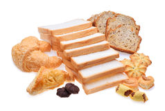 Bakery foodstuffs Stock Images