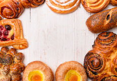 Bakery foodstuffs Royalty Free Stock Photo