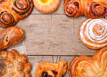 Bakery foodstuffs Stock Image