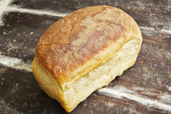 Bakery. Freshly baked bread in a traditional bakery royalty free stock photo