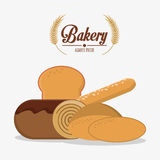 Bakery icon design Royalty Free Stock Photo