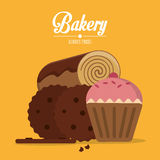 Bakery icon design Stock Images