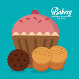 Bakery icon design Royalty Free Stock Photography