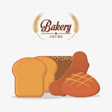 Bakery icon design Royalty Free Stock Image