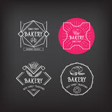 Bakery icon design. Menu badge vintage. Royalty Free Stock Photos