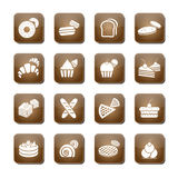 Bakery icon set. Vector Stock Photography