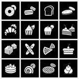 Bakery icon set. Vector Royalty Free Stock Images