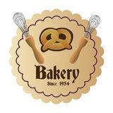 Bakery icons Royalty Free Stock Photo