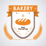 Bakery icons design Royalty Free Stock Photo