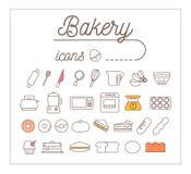 Bakery Icons Design Set.Vector Illustration. vector illustration