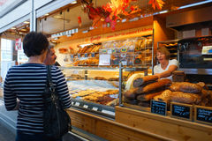 Bakery interior Royalty Free Stock Photos