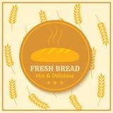 Bakery label Royalty Free Stock Image