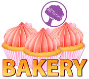 Bakery label Royalty Free Stock Photo