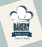 Bakery label Stock Image