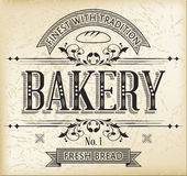Bakery Label Stock Photo