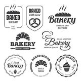 Bakery labels 2 Royalty Free Stock Image