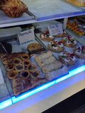 A Bakery in Lisbon Portugal Royalty Free Stock Photography