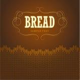 Bakery. loaf, baguette, baked goods, croissant, cu Stock Images