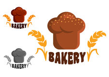 Bakery logo or emblems Royalty Free Stock Image
