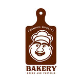 Bakery logo templates Royalty Free Stock Images