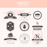 Bakery Logos Royalty Free Stock Photography