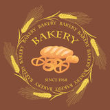 Bakery market  design. Stock Photography
