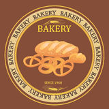 Bakery market  design. Royalty Free Stock Image