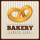 Bakery menu design Stock Photography