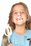 Bakery mess laugh Stock Photos