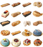 Bakery Mixed Assortment Stock Images